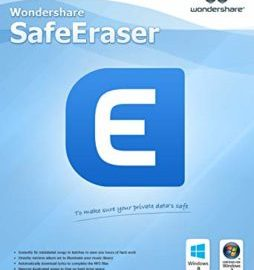 Wondershare SafeEraser 4.9.9 Crack Full Version Free Download