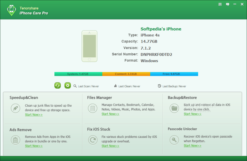 Tenorshare icarefone Crack Full Version Free Download