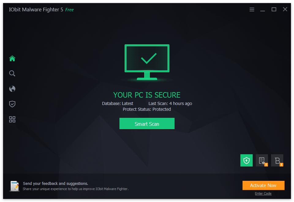 Iobit Malware PC license keys