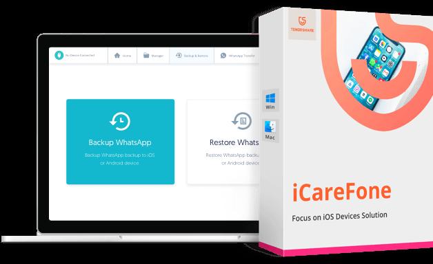 Icarefone Latest Version 2021