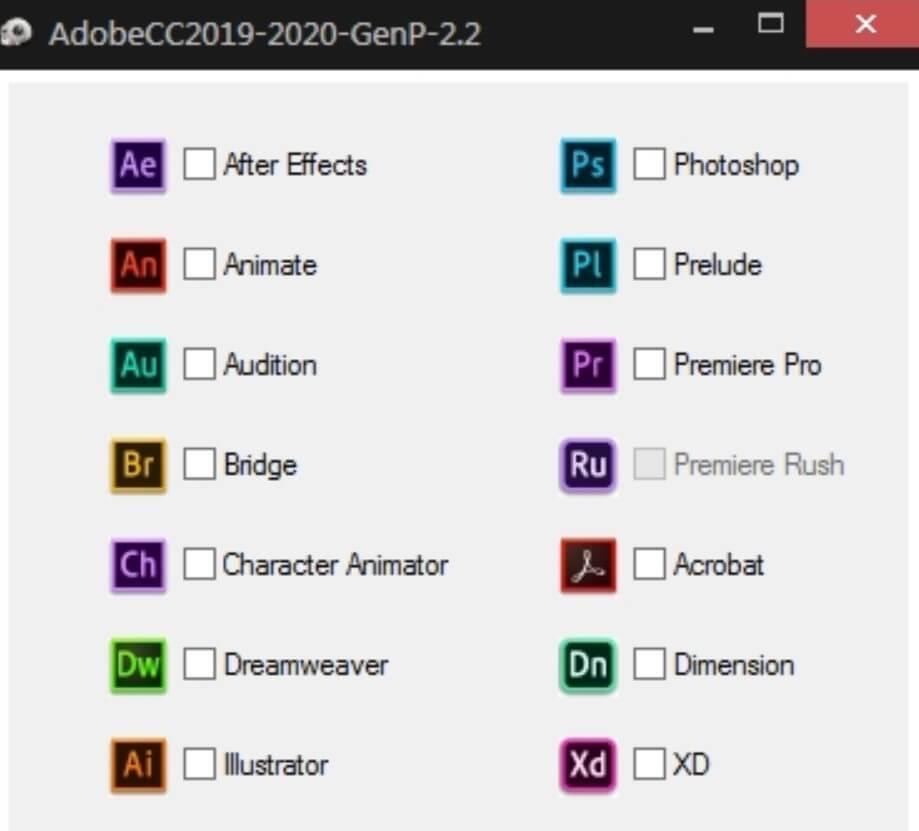 Adobe Cc 2020 Genp Crack Latest Version