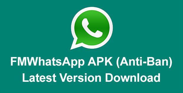 FMWhatsApp 12.23 APK Download Latest Version 2020