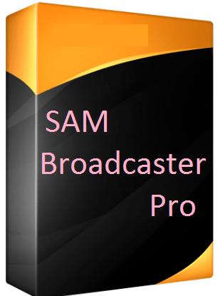 SAM Broadcaster Pro Full Version With Crack